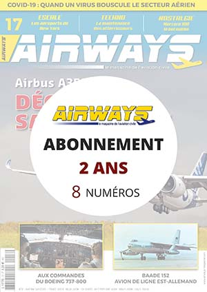 Abonnement AIRWAYS 2 ans en FRANCE