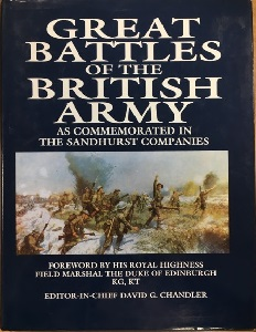 GREAT BATTLES OF THE BRITISH ARMY