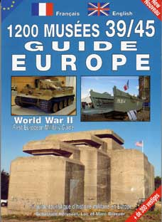 1200 MUSEES 39/45 GUIDE EUROPE