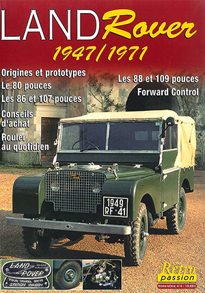 HS RETRO PASSION 4 - LAND ROVER 1947 1971