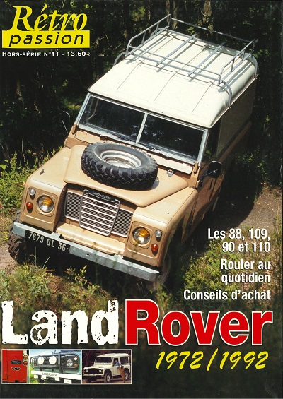 HS RETRO PASSION 11 LAND ROVER 1972/1992