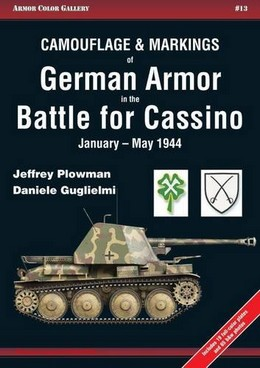 CAMOUFLAGE MARKINGS GERMAN ARMOR CASSINO