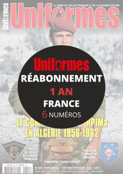 Réabonnement UNIFORMES 1 an France