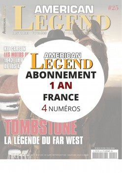 Abonnement AMERICAN LEGEND 1 an en France