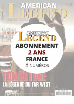 Abonnement AMERICAN LEGEND 2 ans en France
