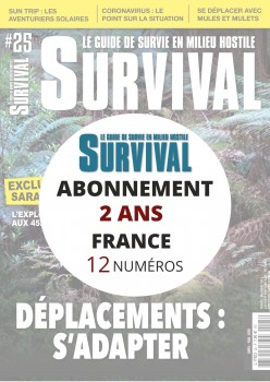 Abonnement SURVIVAL en France 2 ans