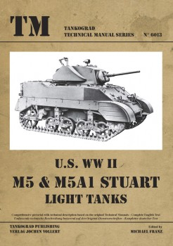M5 & M5A1 STUART LIGHT TANKS US WWII
