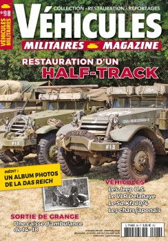VEHICULES MILITAIRES N°98 - AVRIL MAIL 2021