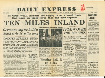 DAILY EXPRESS - JUNE 7 1944