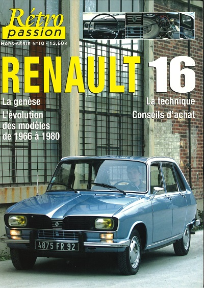 HS RETRO PASSION 10 RENAULT 16